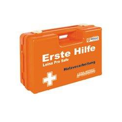 Erste Hilfe Koffer Leina Pro Safe Holzverarbeitung DIN 13157 Inhalt DIN 13157 mit branchenspezifischer Zusatzaustattung