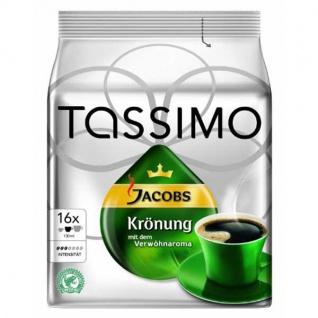Tassimo Jacobs Krönung gemahlener Röstkaffee 16 Kapseln 104g