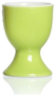 Ritzenhoff und Breker Doppio grün Eierbecher aus Porzellan Marke Flirt