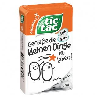 tic tac Orange Sags netter erfrischende Orangenbonbons 100er 49g