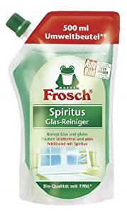 Frosch Spiritus Glas Reiniger Nachfüllpack 5er Pack