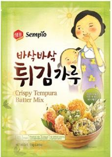 Sempio Backmischung für Tempura-Gerichte (5x 1000g)