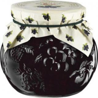 Darbo Konfitüre Extra Heidelbeere in einem Glas Dekorglas 640g