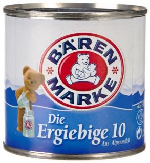 Bärenmarke Die Ergiebige 10 Fettgehalt Kondensmilch 170g 8er Pack