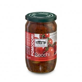 Pomodori secchi- getrocknete Tomaten in vegetalischem Öl 630g