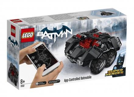 Lego DC Super Heroes 76112 Fahre mit Batman im App-Gesteuerten Batmobile