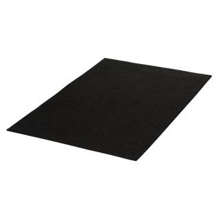 Filz schwarz Textil zum Basteln und Dekorieren geeignet 20x30cm