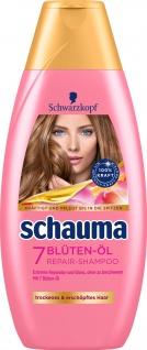 Schwarzkopf Schauma 7 Blüten Öl Shampoo Glanz Reparatur 400 ml
