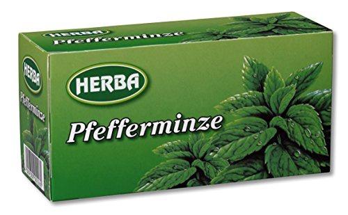 Herba Pfefferminztee erfrischend minzig für Genießer 10er Pack