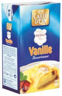 Carte D'or Vanillesauce 1l 12er Pack