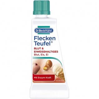 Dr Beckmann Fleckenteufel Blut Eiweißhaltiges schont Farben 50g