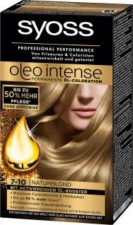 Syoss Oleo Intense 7-10 Naturblond 3er Pack