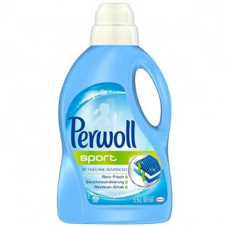 Perwoll Waschmittel Sport und Outdoorkleidung flüssig 1440ml
