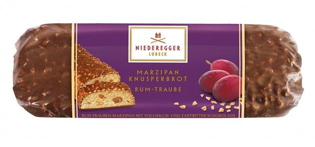Niederegger Marzipan gehackte Mandeln Knusperbrot 125 g 5er Pack