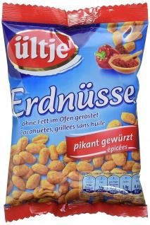 Ültje Erdnüsse ohne Fett , pikant 200g