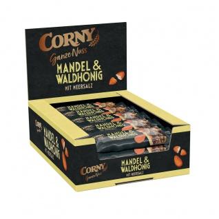 Corny Ganze Nuss Mandel und Waldhonig mit Meersalz 40g 15er Pack
