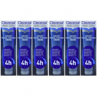 Clearasil Ultra Akut Pickel Creme bekämpft unreine Haut 6er Pack 15ml