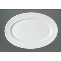 Ritzenhoff & Breker Servierplatte aus Porzellan Maße 35x25cm ovale Form