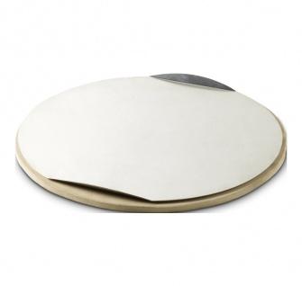 Weber Stephen Pizzastein rund durchmesser 26 cm Farbe Silber