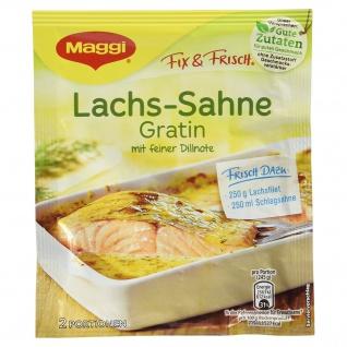 Maggi fix & frisch für Lachs-Sahne Gratin, 26 g
