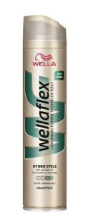 Wellaflex Hydro Style Haarspray, extra starker Halt, 250ml