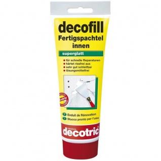 Decotric Decofill Fertigspachtel innen für Wand und Decke 400g