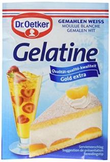 Dr. Oetker Gelatine Weiß Gemahlen, 11er Pack (11 x 27g Packung)