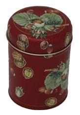 Aufbewahrungsdose Teedose Kaffeedose mit weihnachtlichem Motiv