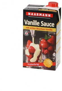 Naarmann Vanille mit echter Bourbon Sauce Kalt und heiß 1000ml