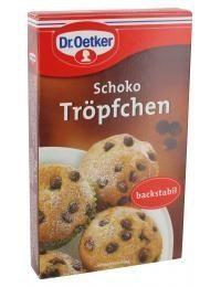 Dr. Oetker - Schoko Tröpfchen Backzutat - 75g