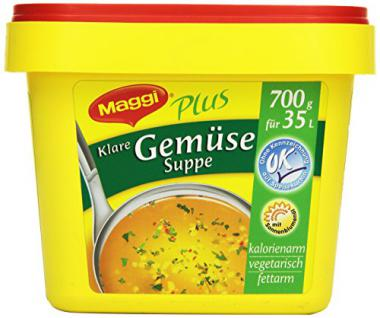 Maggi Klare Gemüsesuppe, 1er Pack (1 x 700 g)