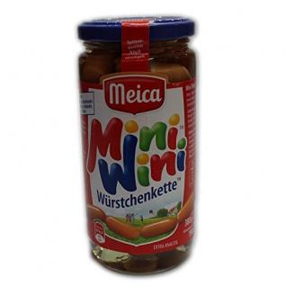 Meica Mini Wini Würstchenkette extra knackig ohne Farbstoffe 380g