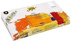 Kuenstler-Oelfarben Farben-Set