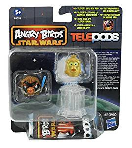Figuren-Set Angry Birds SW Telepods