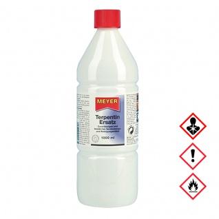 Meyer Terpentin Ersatz Verdünnungs und Reinigungsmittel 1000ml