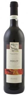 BIOrebe Merlot IGP Frankreich Rotwein trocken fruchtig 750ml