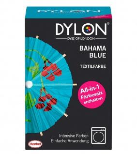DYLON Textilfarbe, Bahama Blue, 1er Pack Intensive Farben Einfache Anwendung