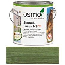 Osmo Einmal-Lasur HSPlus Tannengrün seidenmatt und transparent 2500ml