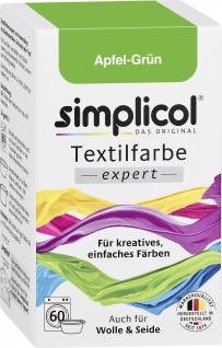 Simplicol Textilfarbe Apfel Grün