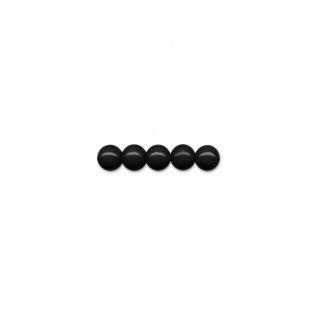 Meyco schweiß und speichelfeste 85 Holzperlen in schwarz 8mm