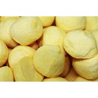 Mellow Speckbälle gelb große gezuckerte Schaumzuckerbälle 125g