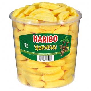 Haribo Bananas kandierte Schaumzucker mit Bananengeschmack 1050g