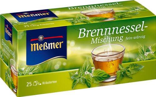 Meßmer Brennnessel 25 Teebeutel 4er Pack