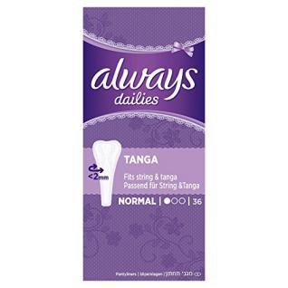 Always Twist und Flex Slipeinlagen Tanga Einzelpac, 36 Stück - Vorschau
