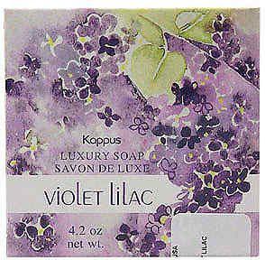 KAPPUS Violet Lilac Luxusseife 125 Gramm - Vorschau