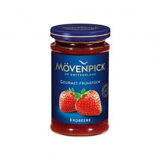Mövenpick Erdbeere Gourmet-Frühstück Fruchtaufstrich aromatisch 250g