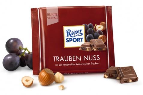 Ritter Sport Trauben Nuß mit knackigen Haselnussstücken 100g