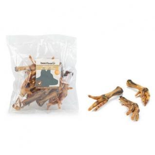 Hühnerfüsse natürlicher Hundesnack Hundeleckerlie Beeztees 10x200g
