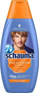 Schauma Hair Activator Koffein Shampoo von Schwarzkopf 400ml 4er Pack