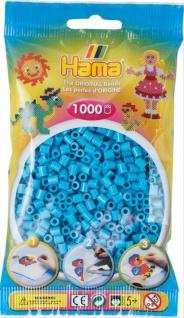 HAMA Perlen Azur Blau